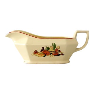 Homer Laughlin Mexican Gravy Boat For Sale