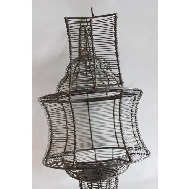 West Elm Pendant Candle Lantern - Image 4 of 8