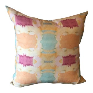 Abstract Bunglo Pillow Cover by Shay Spaniola For Sale