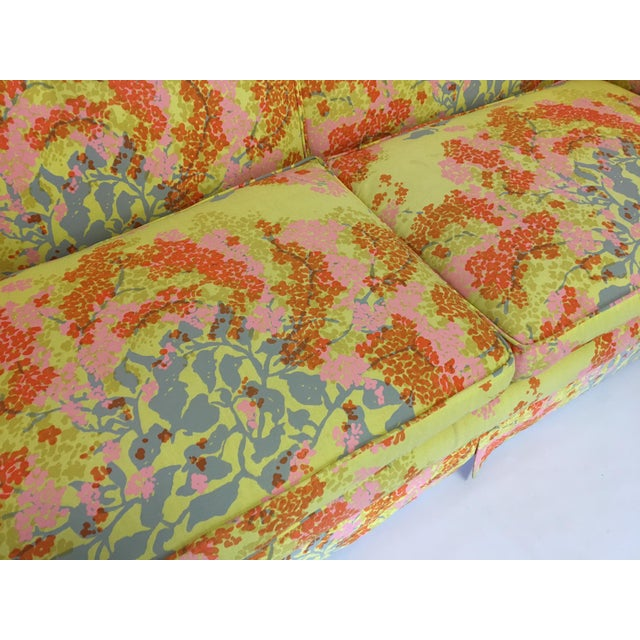 Dorothy Draper Floral Sofa - Image 5 of 6