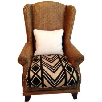 Oversize Padma Plantation Chair For Sale
