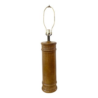 Mid-Century Bitossi Aldo Londi Table Lamp For Sale