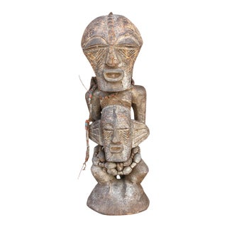 African Antique Tribal Statue For Sale