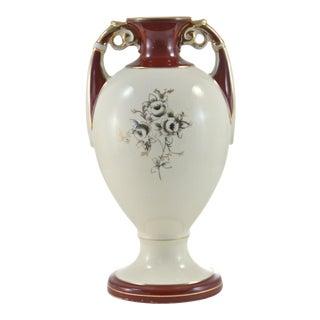 Classical Burgundy & Gold Gilt Urn