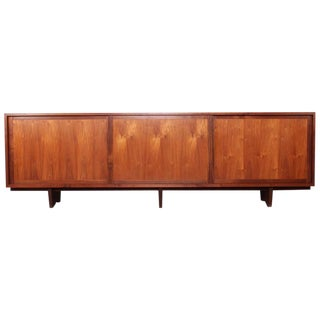 Large Walnut Cabinet by George Nakashima