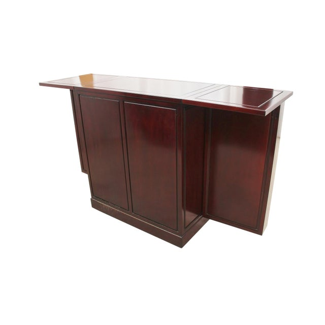 Rosewood Bar and Cabinet - Image 6 of 6