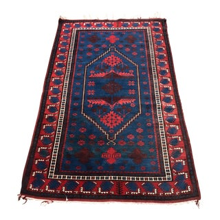 Vintage Area Rug From Istanbul - 3′9″ × 6′4″