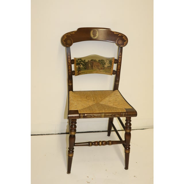 1970s Vintage Hitchcock Limited Edition Chair For Sale - Image 11 of 11