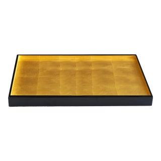 Medium London Gold Leaf Tray For Sale