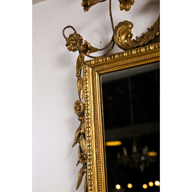 1930s Italian Giltwood Mirror For Sale - Image 5 of 9