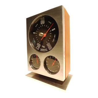 1960s Vintage Taylor Instruments Barometer For Sale