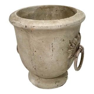 Vintage Clay Pot Planter For Sale