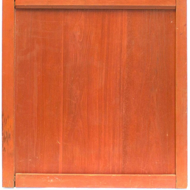 Japanese Solid Wooden Door For Sale - Image 4 of 7