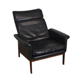 Finn Juhl for France & Son Danish Modern Teak Lounge Chair For Sale