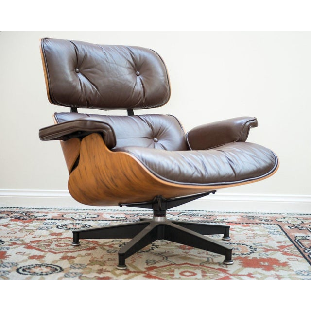 Herman Miller Herman Miller Eames Lounge Chair For Sale - Image 4 of 10