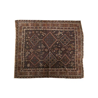 "Antique Kamseh Carpet - 5'5"" X 6'5"""