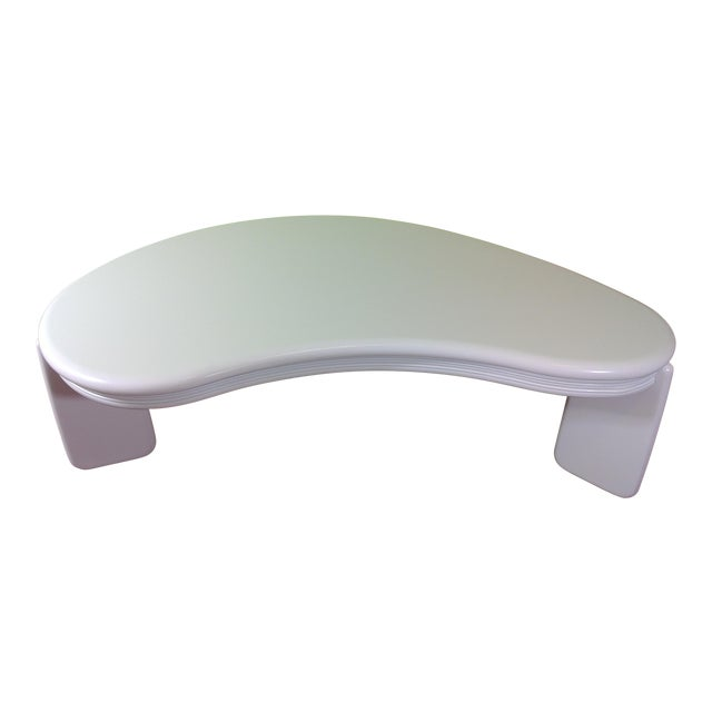 Kidney Shaped Coffee Table - Image 1 of 11