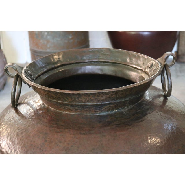 Copper Pot For Sale - Image 4 of 5