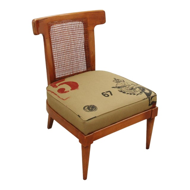 1960s Vintage American of Martinsville Campaign Chair For Sale