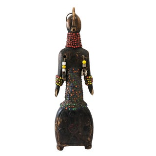 "African Art Namji Fertility Doll Cameroon 11.25""h For Sale"