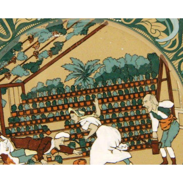 "Buffalo Pottery Deldare ""Misfortune at Tulip Hall"" Plate - Image 2 of 4"