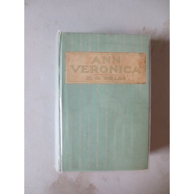 Ann Veronica by H.G. Wells, 1909, 1st Edition - Image 2 of 6