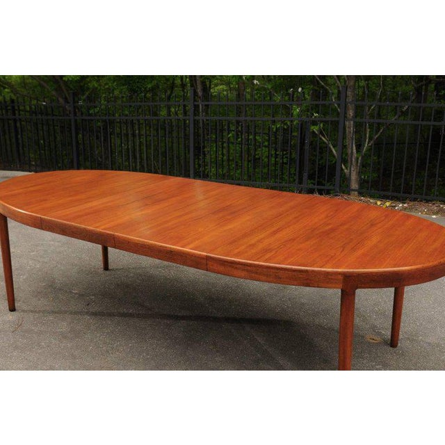 1960s Magnificent Teak Extension Dining Table by Harry Ostergaard, Circa 1963 For Sale - Image 5 of 11