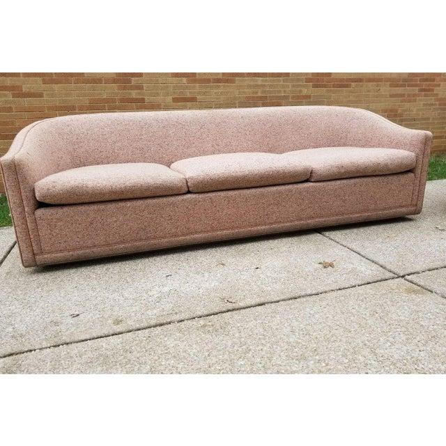 Larsen Furniture Jack Lenor Larsen Low Sofa and Swivel Lounge Chair - A Pair - Image 11 of 11