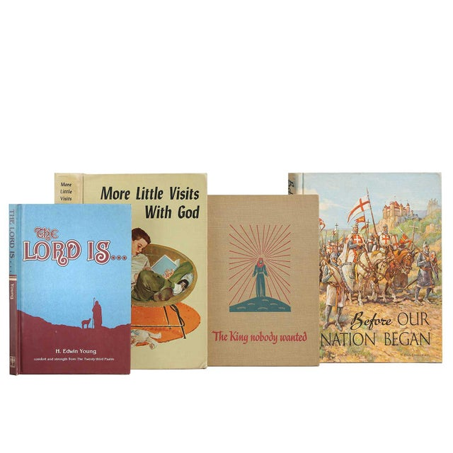 Children's Sacred Treasury, S/14. Fourteen vintage books featuring a treasury of religious texts for the young reader....