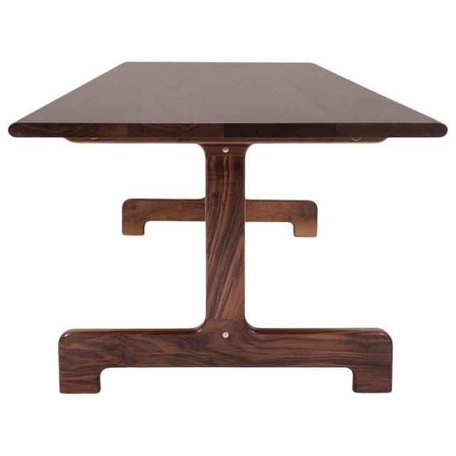 Bespoke Asa Pingree Physalia Walnut Dining Table For Sale - Image 9 of 9