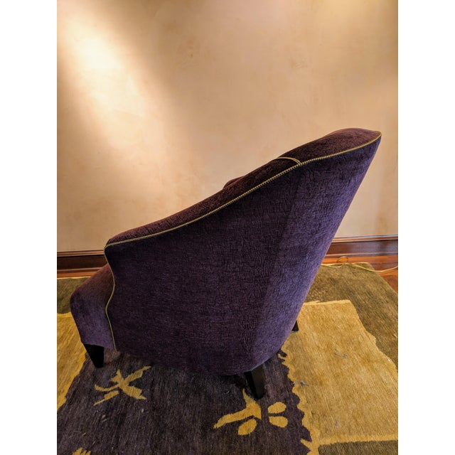 """Donghia 1980s Donghia """"Shell"""" Chair For Sale - Image 4 of 10"""