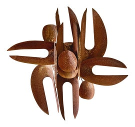 Image of Mid-Century Modern Sculptural Wall Objects