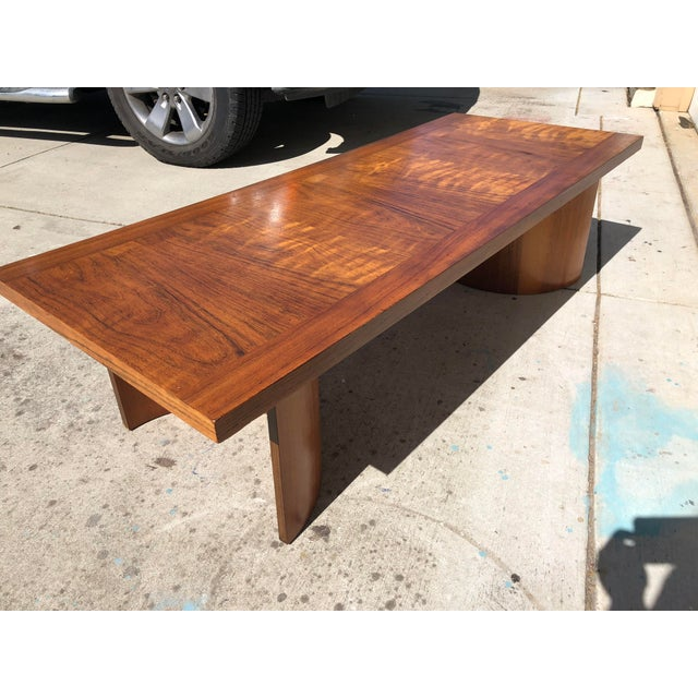 Kroehler Mid-Century Modern Bentwood Base Coffee Table For Sale - Image 6 of 11