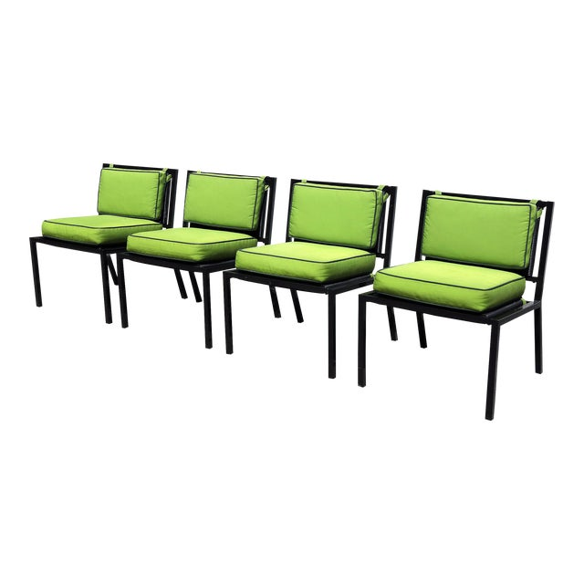 Van Keppel Green Patio Chairs - Set of 4 - Image 1 of 9