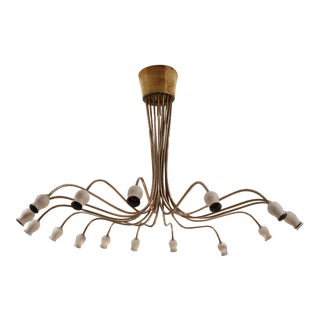 A ceiling lamp by Angelo Lelli, Italy 50'