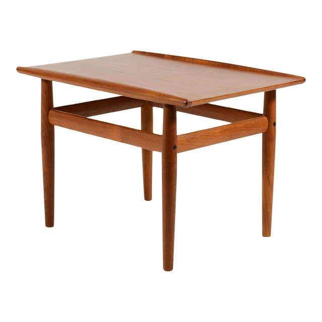 Teak Side/ End Table by Greta Jalk For Sale