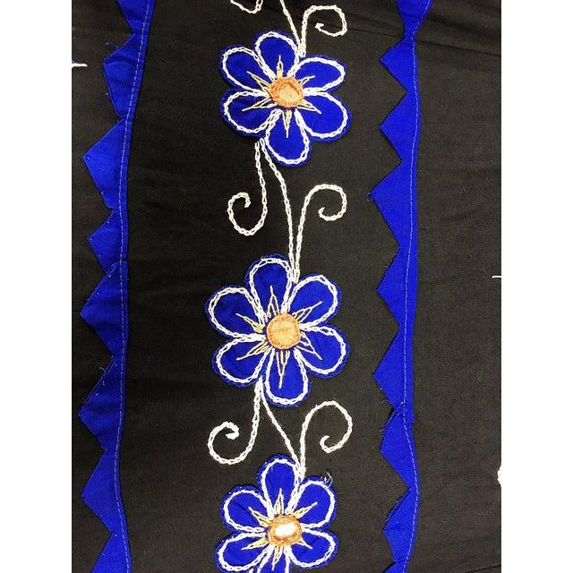 Sun Umbrella Garden Umbrella, Embroidered Cotton - Image 5 of 11