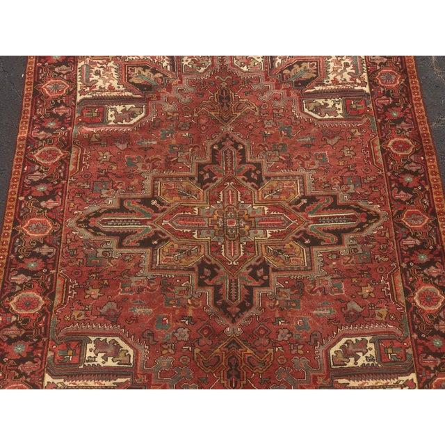 Vintage Persian Rug - 6′10″ × 9′7″ - Image 2 of 11