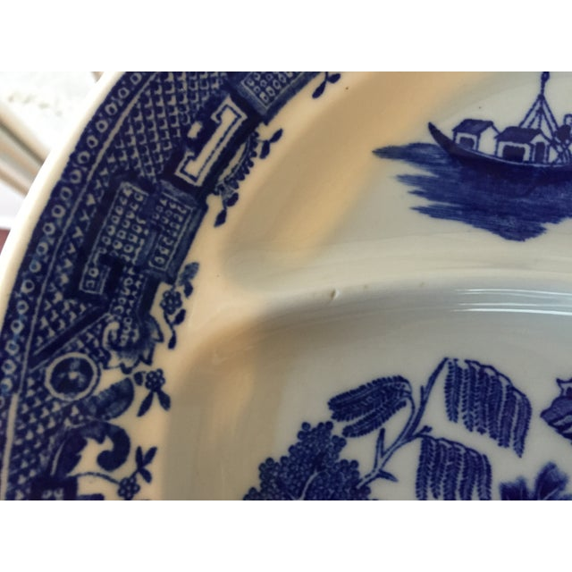 Blue Willow Restaurant Grill Plates - Set of 3 - Image 10 of 11