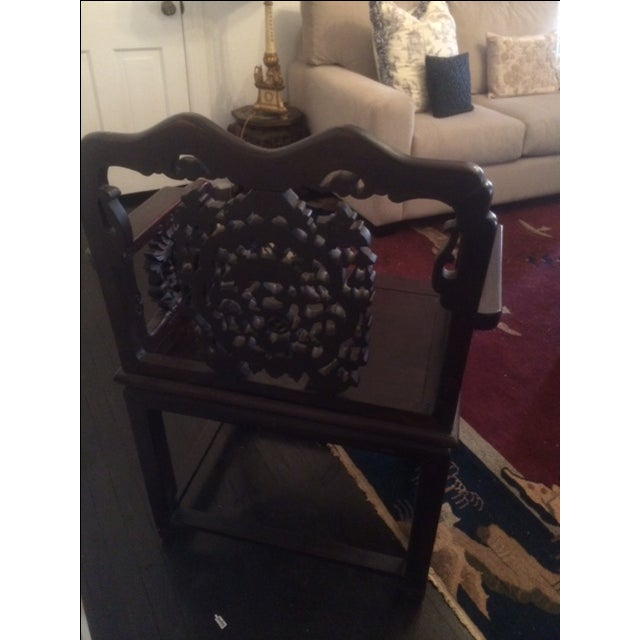 Antique Chinese Throne Chair For Sale In Philadelphia - Image 6 of 8