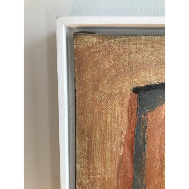 "Rare! Gorgeous! 20th Century Abstract ""Two Figures"" Oil on Canvas Painting by Maurice Cloud For Sale In Los Angeles - Image 6 of 8"