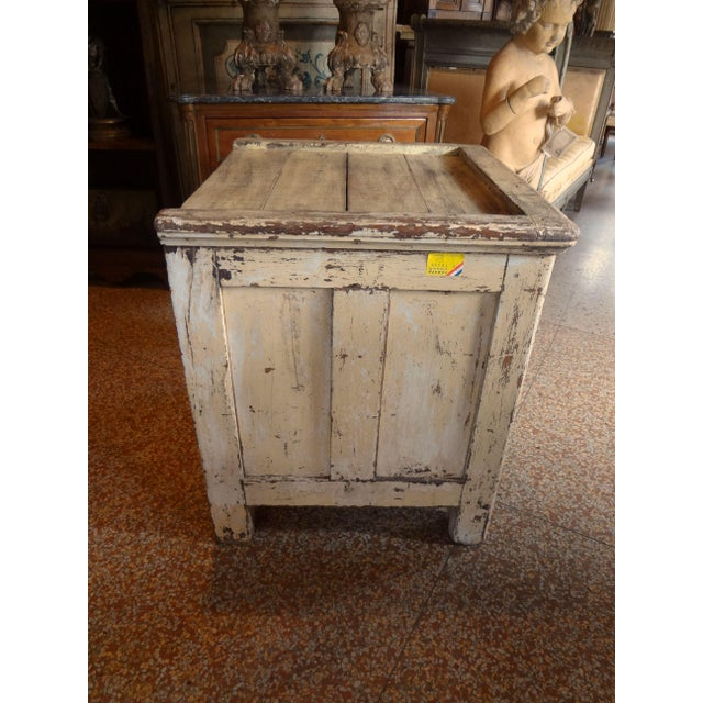 Late 19th Century Late 19th Century Rustic French One Door Cabinet For Sale - Image 5 of 12