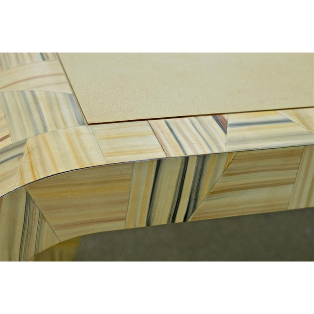 Alessandro Painted & Lacquered Console / Desk for Baker Furniture For Sale - Image 5 of 11