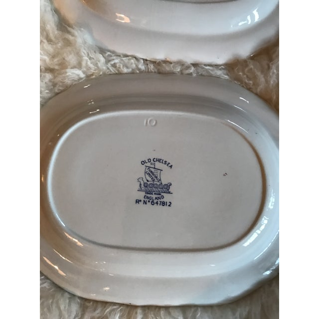 Chinoiserie Old Chelsea Platters - Set of 3 - Image 5 of 8