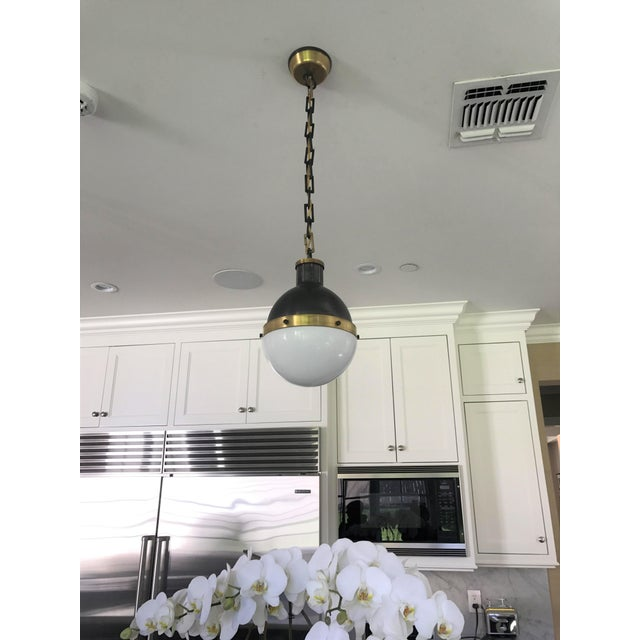 English Visual Comfort Hicks Pendant Lights - a Pair For Sale - Image 3 of 5