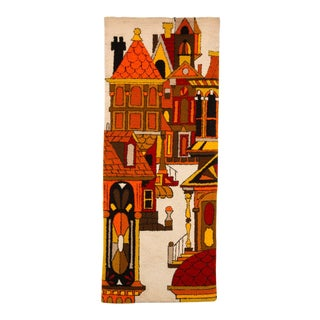 Architectural Wall Hanging Tapestry For Sale