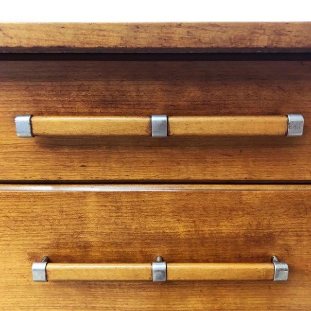 Mid 20th Century Mid Century Modern Tall Dresser by John Stuart for Johnson Furniture For Sale - Image 5 of 13
