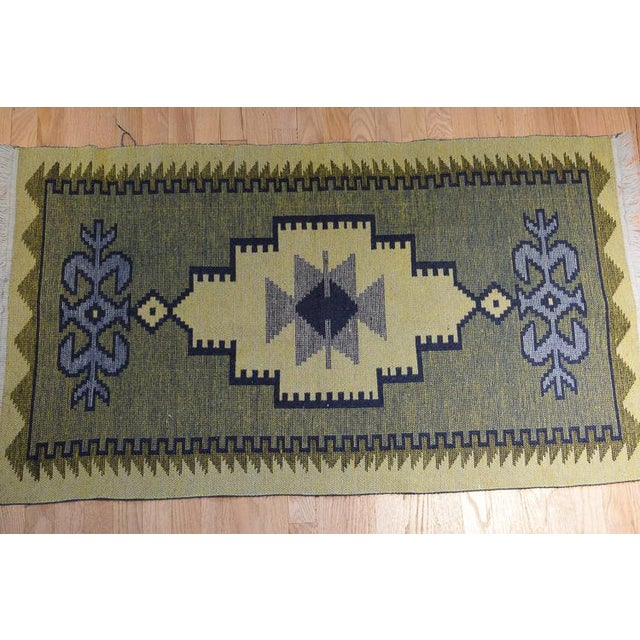Handmade Vintage Kilim Rug - 4′4″ × 2′6″ For Sale - Image 9 of 13
