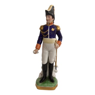 Sevres Monochrome Napoleon Statue For Sale
