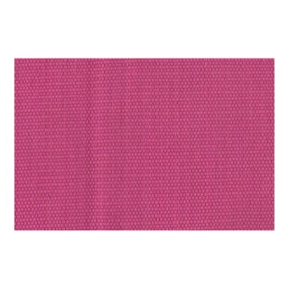"""Traditional Catalan Weave CL Magenta Fabric Lcf68093f by Ralph Lauren - 36 x 54"""" For Sale"""
